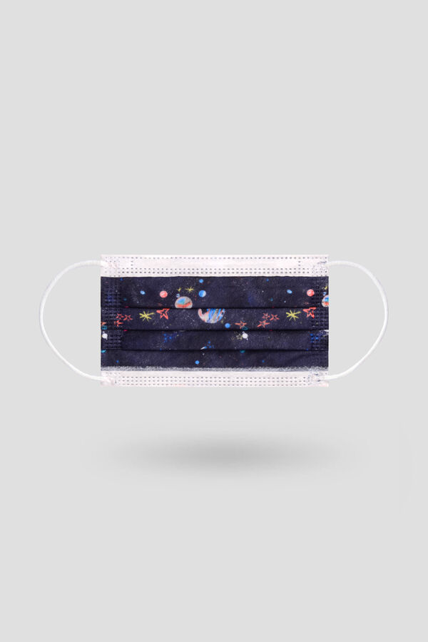 10 pcs Space Patterned Pediatric Surgical Mask