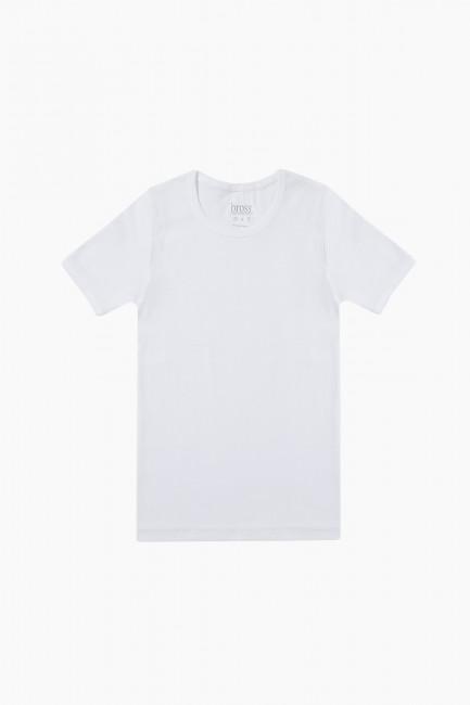 Bross - 1019 %100 Cotton Crew Neck Kids Flannel