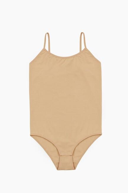 Bross - 1054 Lycra Strappy Damenkörper mit Snap Crotch