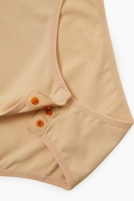 Bross Elastan İp Askılı Kadın Çıtçıtlı Body - Thumbnail