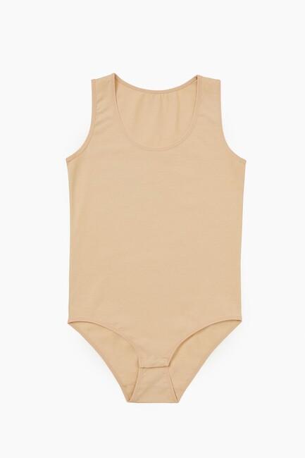 Bross - 1054 Lycra Wide Strappy Damenkörper mit Snap Crotch