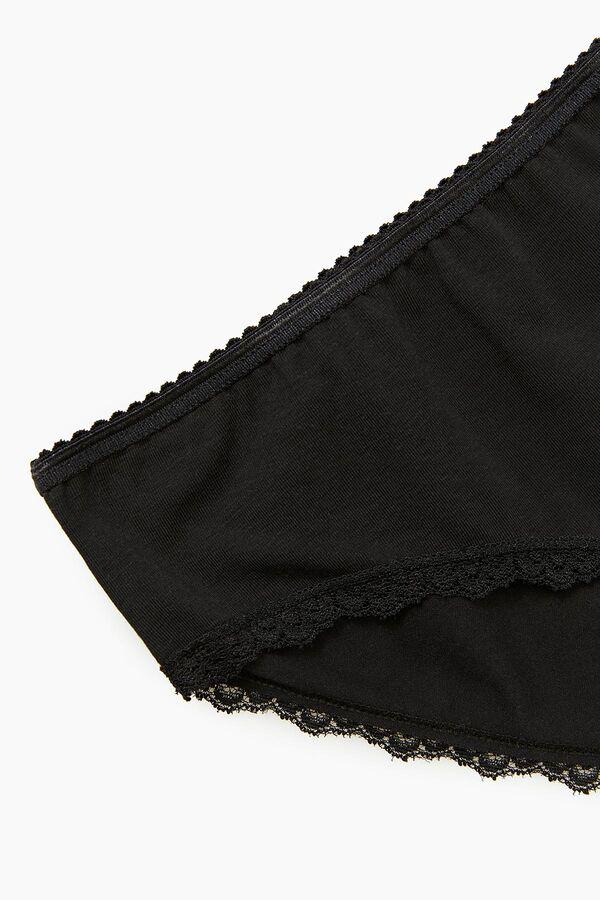 Bross 1108 2-Pack Elastane Lace Women's Slip