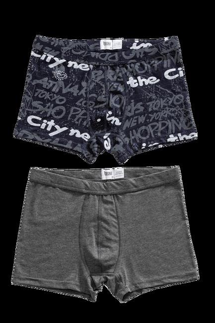 1207 2-pack Basic-Printed Men s Boxer - Thumbnail
