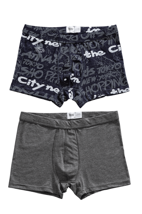 1207 2-pack Basic-Printed Men s Boxer