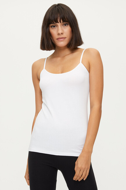 Bross - 1246 Lycra Strappy Damen Unterhemd