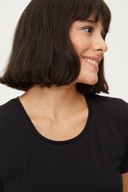 1254 Lycra Ladies Basic T-shirt - Thumbnail
