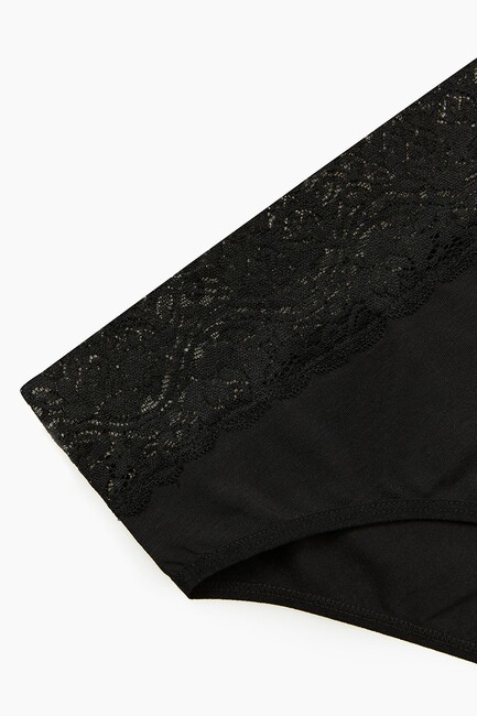 2-pack Lycra Lacy Ladies Panties - Thumbnail