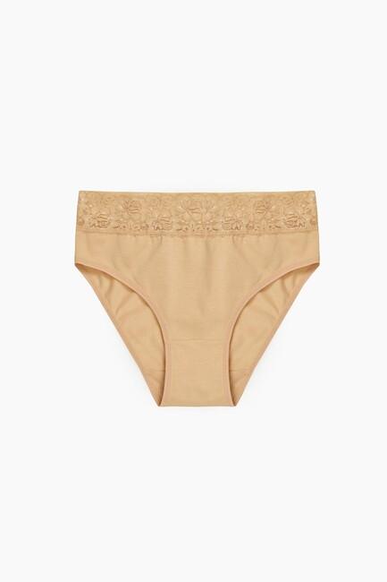 Bross - 1277 2-pack Lycra Lacy Ladies Panties