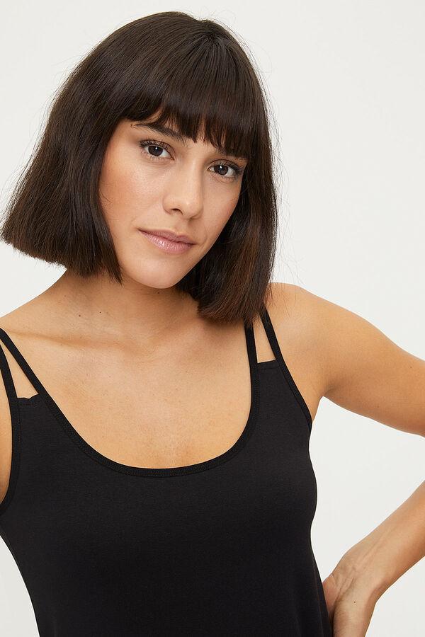 1284 Lycra Strappy Women's Undershirt