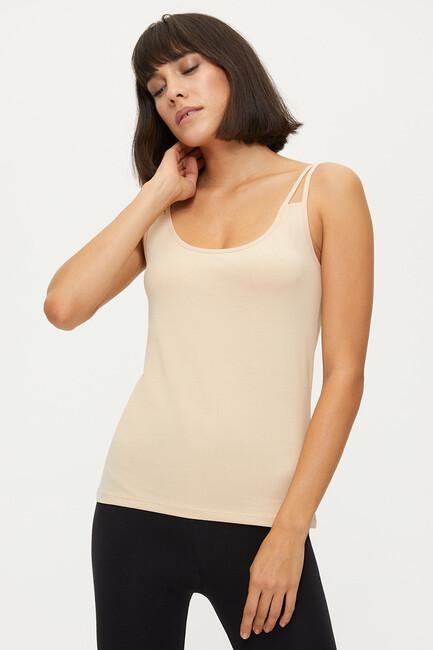 Bross - 1284 Lycra Strappy Damen Unterhemd