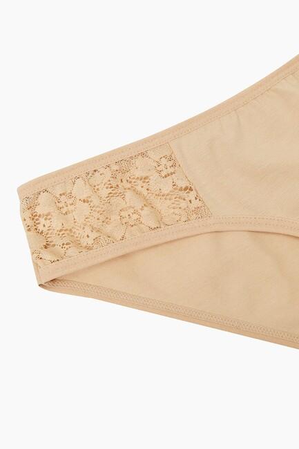 1289 2-pack Lycra Lacy Ladies Panties - Thumbnail