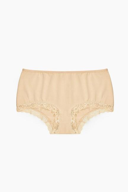 Bross - 1292 2-pack Lycra Lacy Ladies Panties