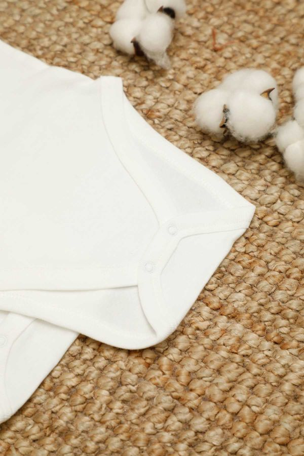 2-pack Organic Cotton Baby Long Sleeve Body