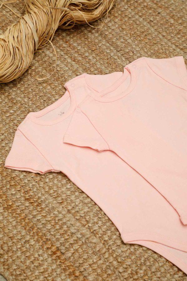 2-pack Organic Cotton Baby Short Sleeve Body