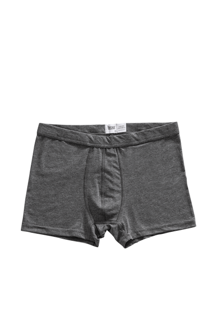 2'li Paket 1207 Düz-baskılı Erkek Boxer - Thumbnail