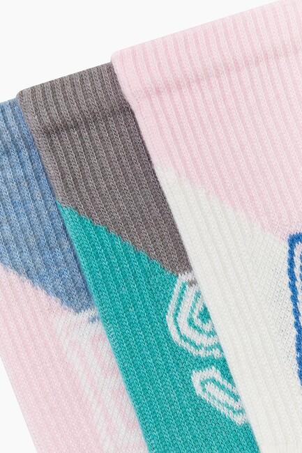 3-Pack Under-Sole Towel Sport Kids Socks - Thumbnail