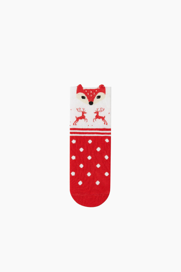 3-Piece 3D Animal Pattern Kids Socks