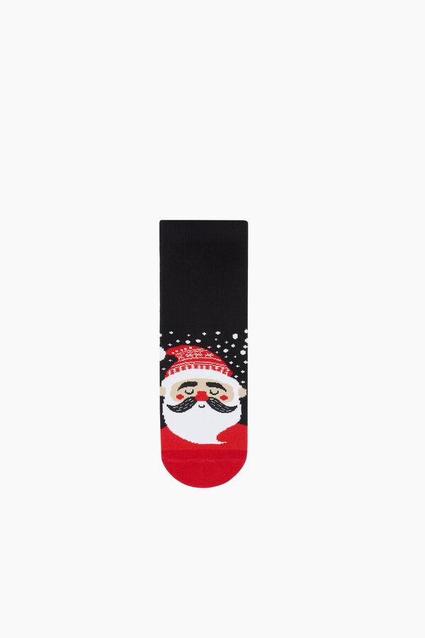 3-Piece Christmas Patterned Kids Socks