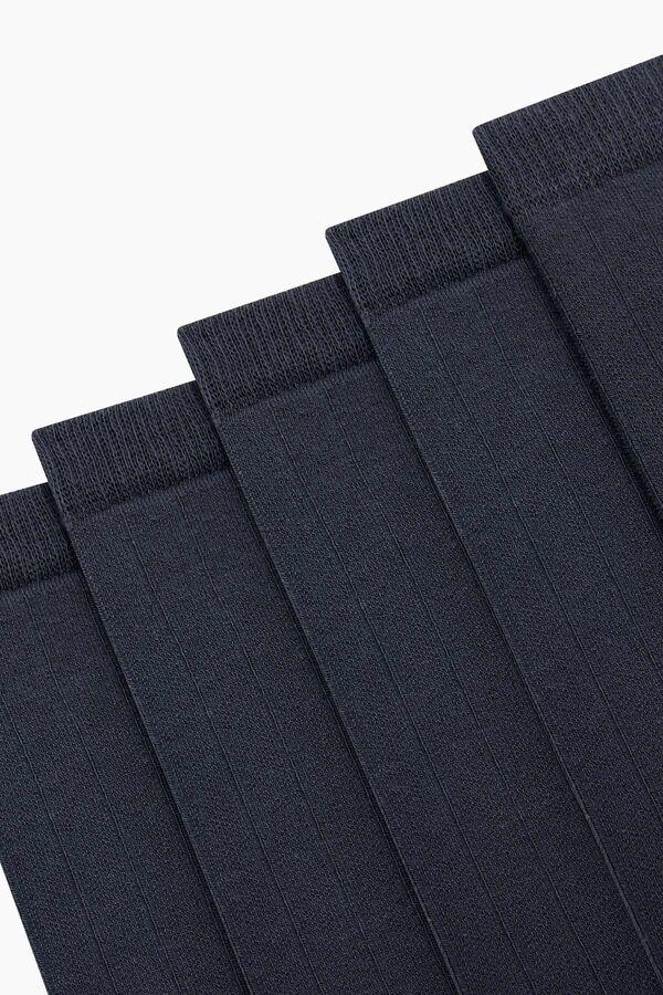 Bross 5-Pack Diabetic Men's Socks