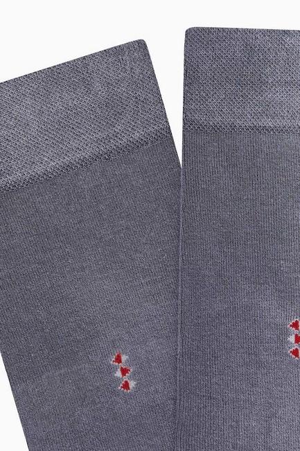 Bross 5'li Paket Bambu Erkek Çorabı - Thumbnail