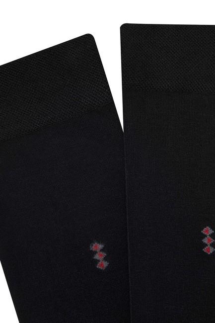 5'li Paket Bambu Erkek Çorabı - Thumbnail