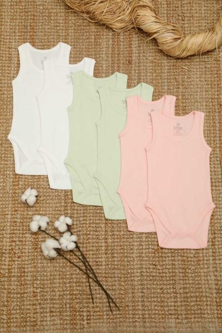 Bross - 6-box Organic Cotton Baby Body