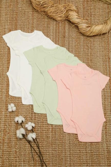 Bross - 6-box Organic Cotton Baby Short Sleeve Body