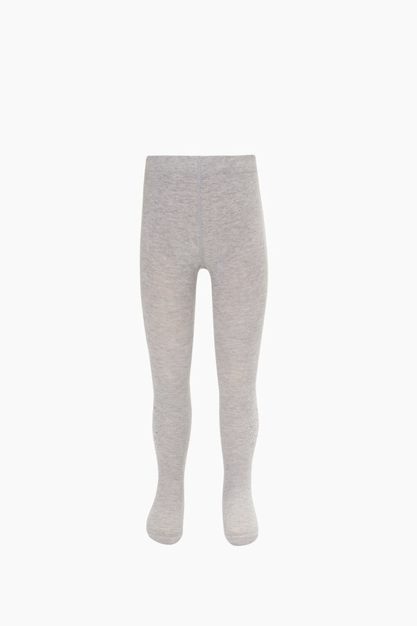 B Letter Stone Printed Kids Tights