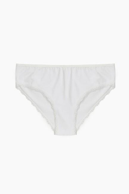 Bross - Bross 2-Pack Elastane Lace Women's Slip
