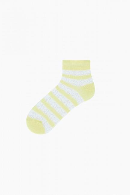 Bross 2-Pack Net Women's Booties Socks - Thumbnail