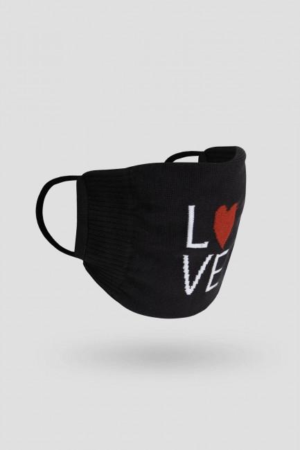 Bross 2'li Bıyık Dudak Sevgililer Günü Yetişkin Çorap ve Çorap Maske Kombini - Thumbnail
