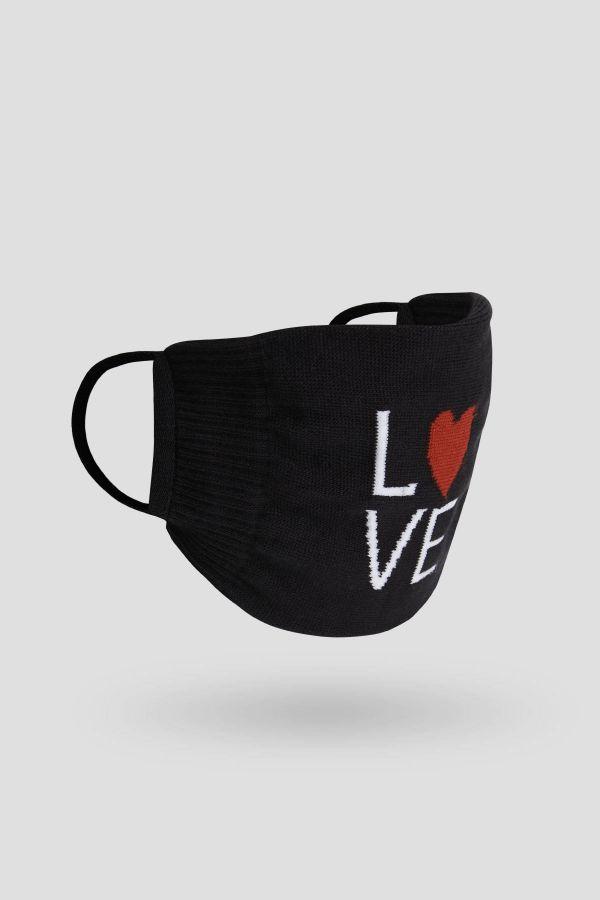 Bross 2'li Bıyık Dudak Sevgililer Günü Yetişkin Çorap ve Çorap Maske Kombini