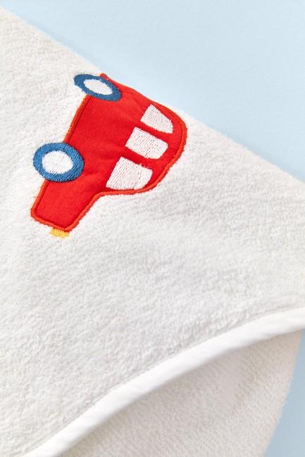 Bross 3'lü Araba Desenli Bebek Havlu Takımı - Thumbnail