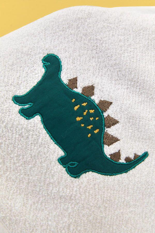 Bross 3'lü Dinazor Desenli Bebek Havlu Takımı