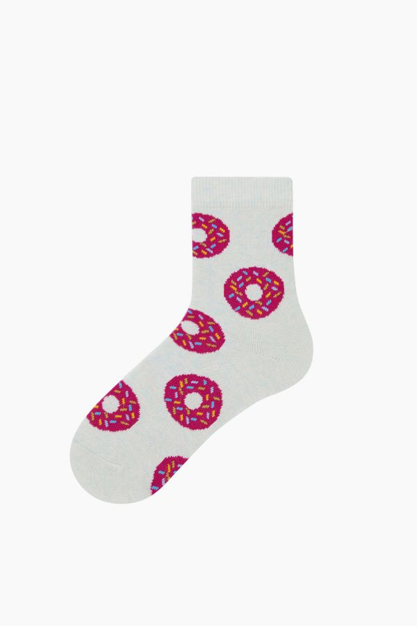 Bross 3'lü Donut Desenli Çocuk Çorabı