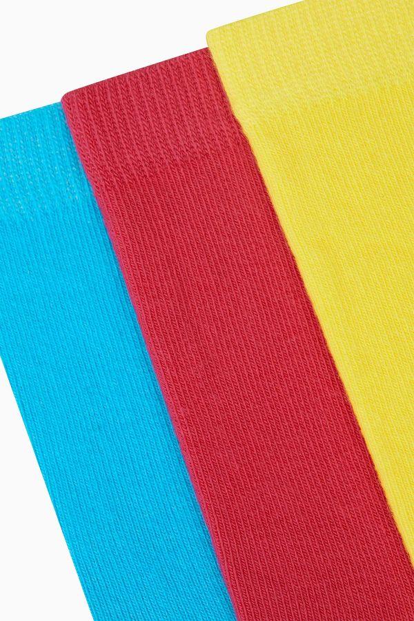 Bross 3'lü Renkli Kadın Çorabı