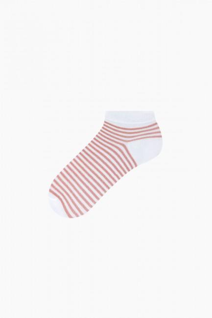Bross 3'lü Simli Patik Kadın Çorabı - Thumbnail