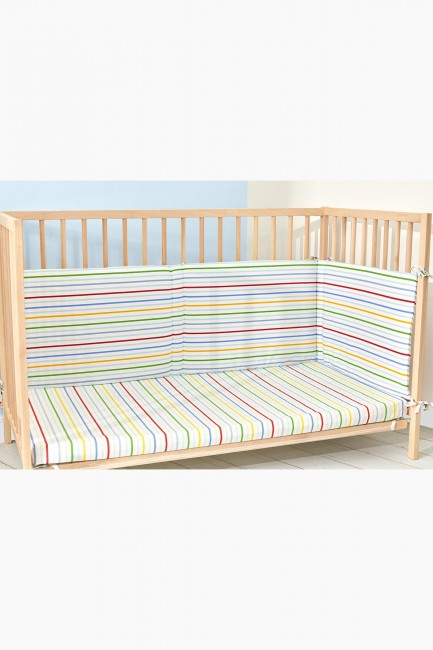 Bross - Bross Car Pattern Baby Bed Protector