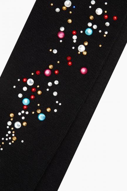 Bross Renkli Taş Baskılı Külotlu Çocuk Çorabı - Thumbnail