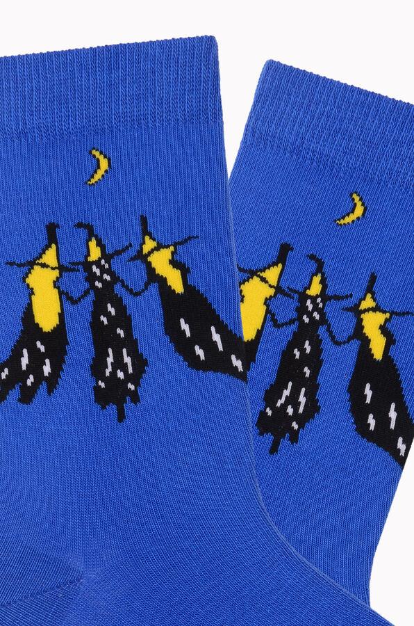 Bross Cadılar Desenli Halloween Çorabı