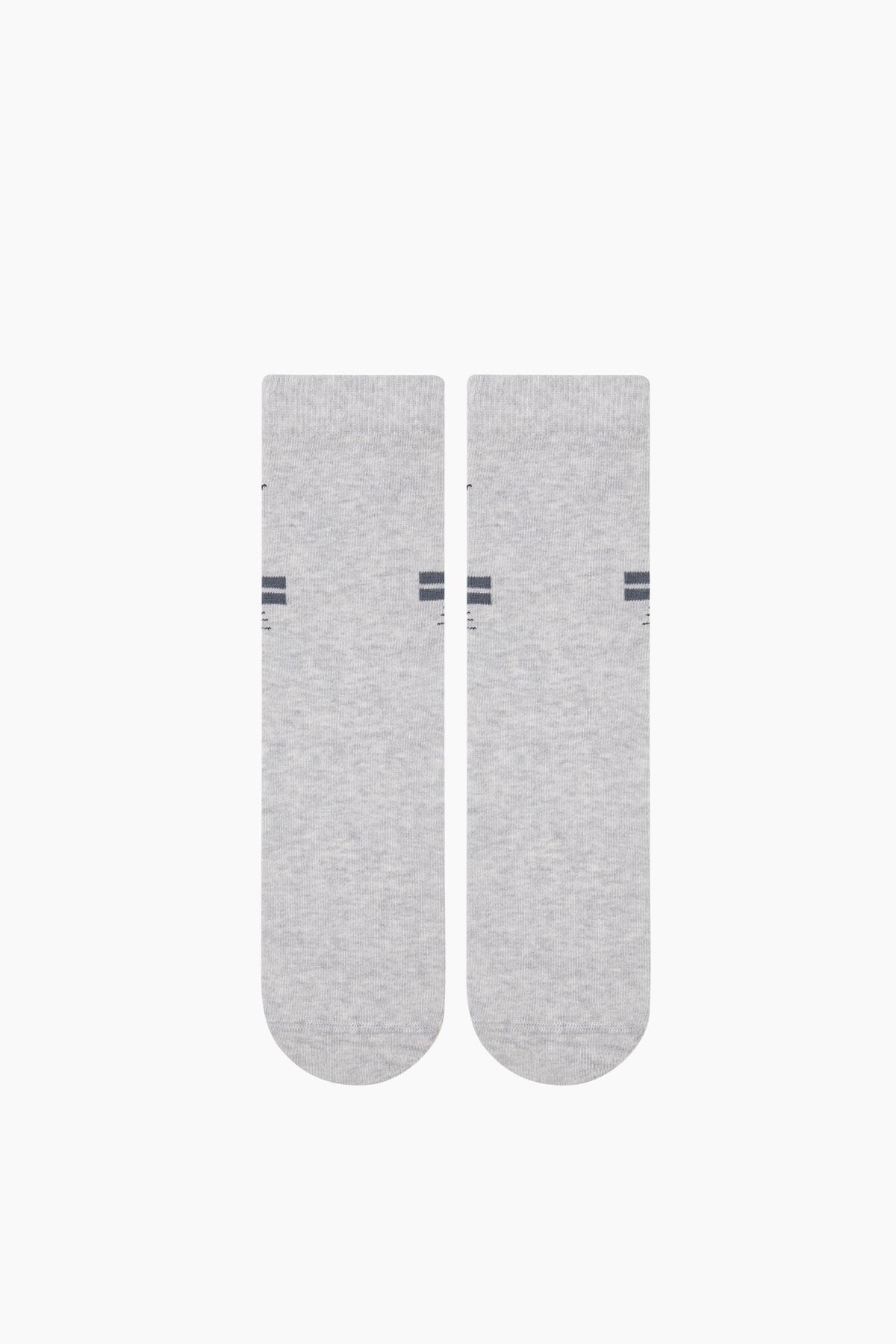 Cat Pattern& Love us written Ladies Socks