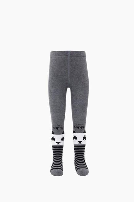 Çemberli Panda Havlu Külotlu Çocuk Çorabı - Thumbnail