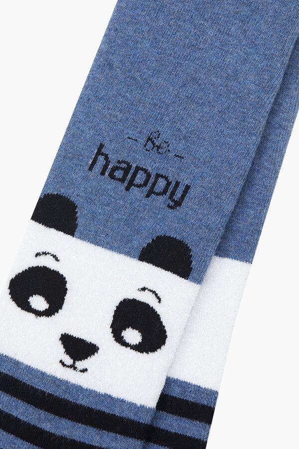 Bross Çemberli Panda Havlu Külotlu Çocuk Çorabı