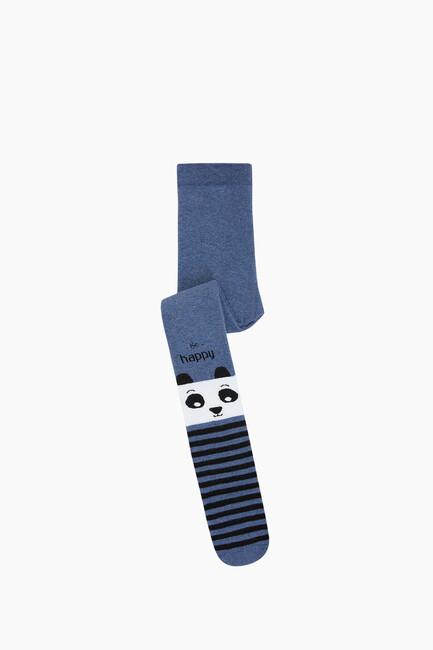Bross - Bross Çemberli Panda Havlu Külotlu Çocuk Çorabı