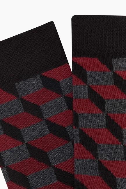 Dama Desen Erkek Çorabı - Thumbnail