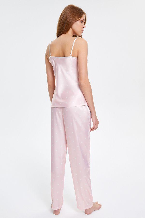 Dantelli Askılı Kadın Pijama Takımı