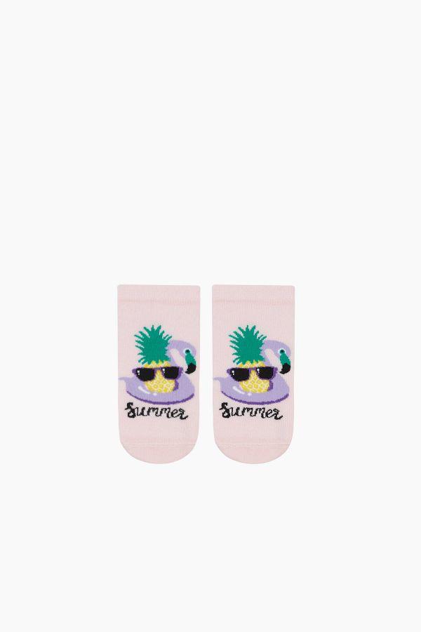 Bross 3 Stück Sommer geschrieben Booties Kids Socks