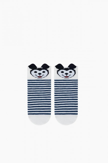 Bross 3D-Babysocken mit Mickey-Muster im 3er-Pack - Thumbnail