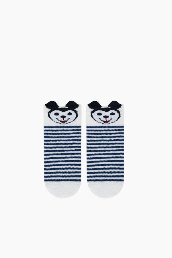 Bross 3D-Babysocken mit Mickey-Muster im 3er-Pack
