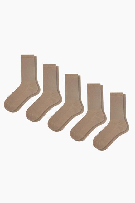 Bross - 5'li Paket Diyabetik Erkek Çorabı